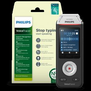 Philips VoiceTracer Audio recorder + Speech Recognition, DVT2810